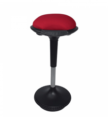 Saddle Chair Red
